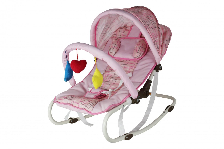 Babywippe / Babyschaukel pink