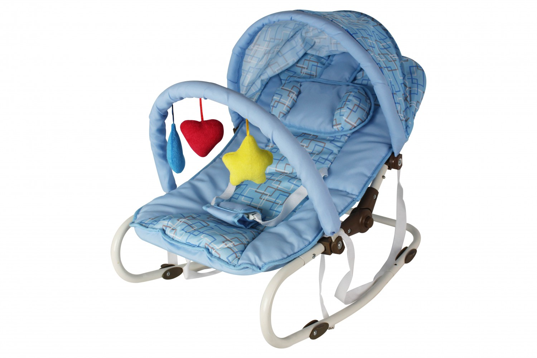 Babywippe / Babyschaukel blau