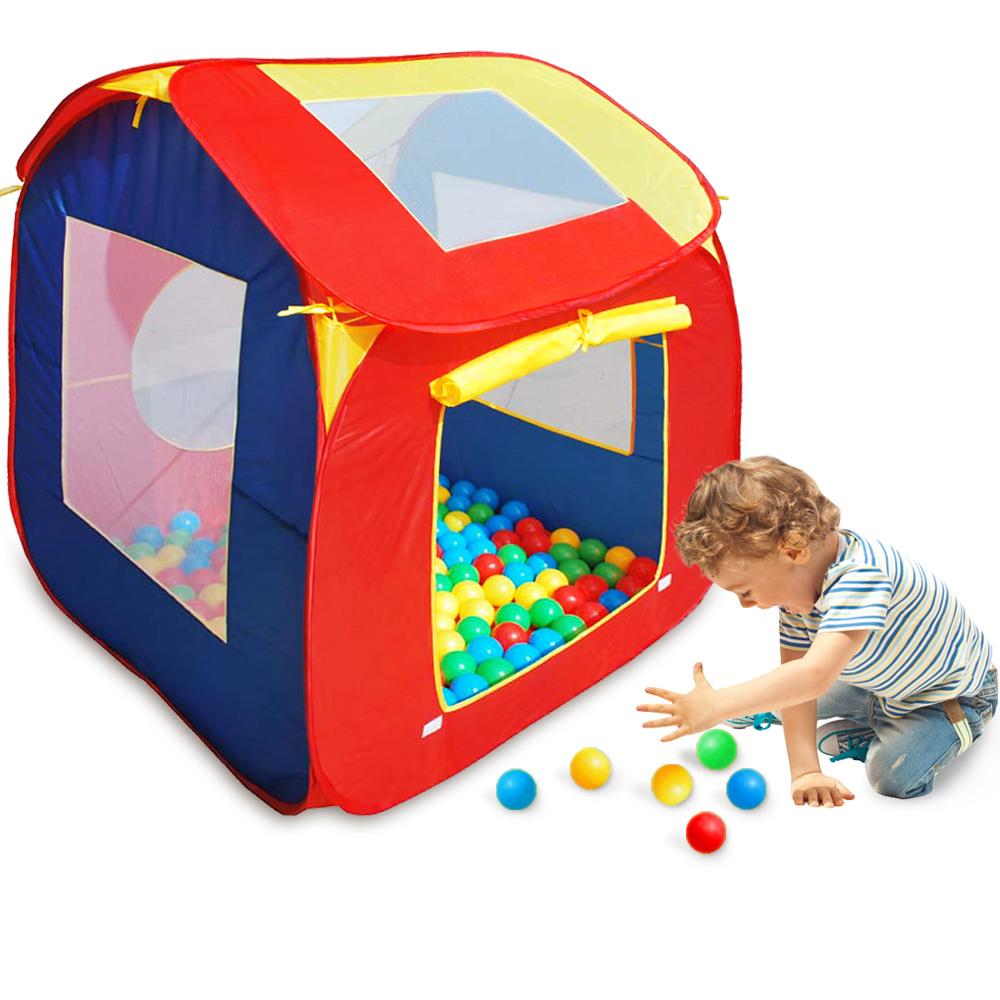 NEU – Kinderhaus inkl. 200 Bälle – NEU