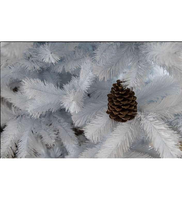 Künstlicher Weihnachtsbaum Tannenbaum Christbaum 220 cm weiß