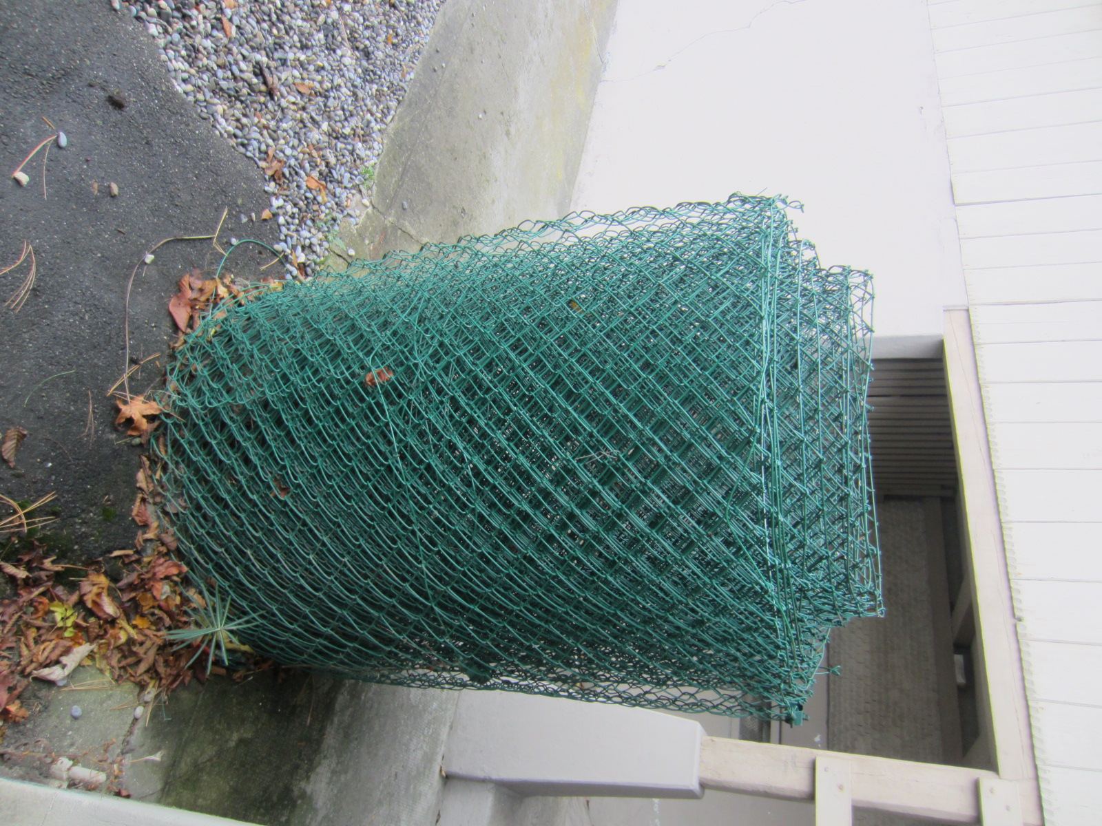 Maschendrahtzaun / Zaun aus Stahl